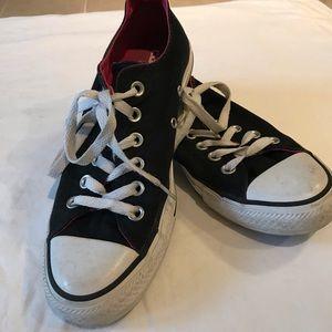 Converse All Star unisex black tennis shoes